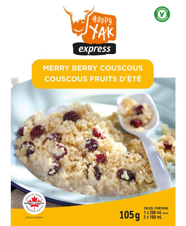Happy Yak Merry Berry Couscous (Vegetarian)