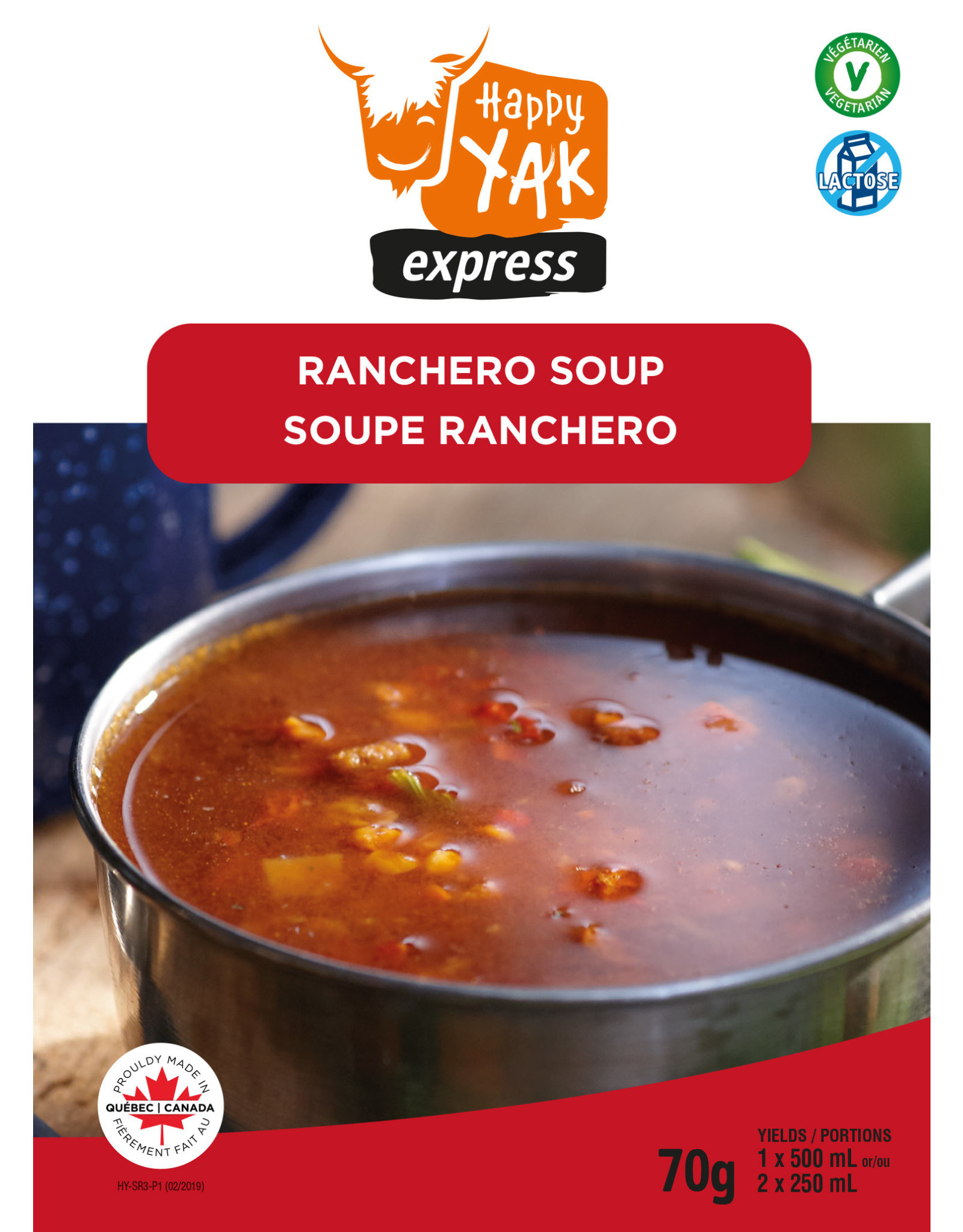 Happy Yak Happy Yak Ranchero Soup (Vegan, Lactose Free)