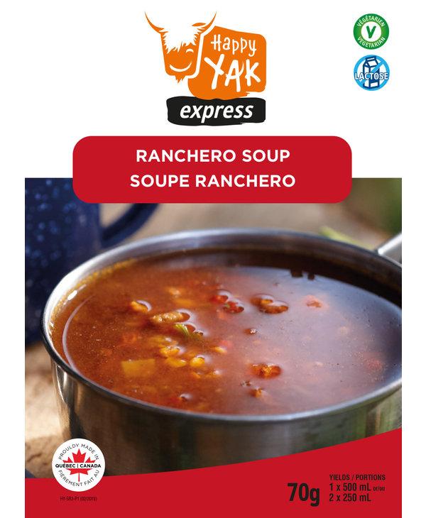 Happy Yak Ranchero Soup (Vegan, Lactose Free)