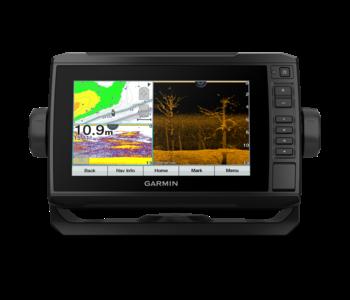 Garmin ECHOMAP UHD 75cv, Canada LakeVu G3, with GT24 Transducer
