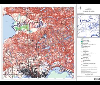 MITIG 1:50,000 Township Map