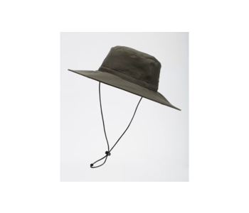 NorthFace Twist and Pouch Brimmer Hat O/S Taupe Green