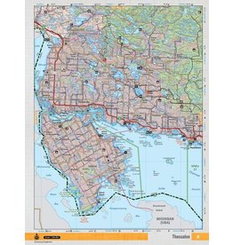 Backroad Mapbooks Backroads Mapbooks ON TOPO MAP WATERPROOF MAP NEON-06 Thessalon