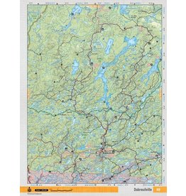 Backroad Mapbooks Backroads Mapbooks ON TOPO MAP WATERPROOF MAP NEON-148 Dubreilville