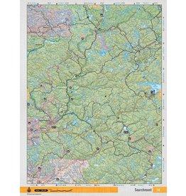Backroad Mapbooks Backroads Mapbooks ON TOPO MAP WATERPROOF MAP NEON-16 Searchmont