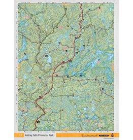 Backroad Mapbooks Backroads Mapbooks ON TOPO MAP WATERPROOF MAP NEON-17 Aubrey Falls