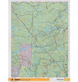 Backroad Mapbooks Backroads Mapbooks ON TOPO MAP WATERPROOF MAP NEON-26 Pineal Lake