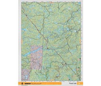 Backroads Mapbooks ON TOPO MAP WATERPROOF MAP NEON-26 Pineal Lake