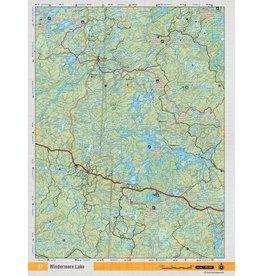 Backroad Mapbooks Backroads Mapbooks ON TOPO MAP WATERPROOF MAP NEON-37 Windermere Lake