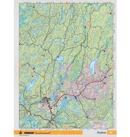 Backroad Mapbooks Backroads Mapbooks ON TOPO MAP WATERPROOF MAP NEON-38 Chapleau