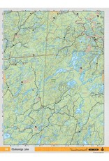 Backroad Mapbooks Backroads Mapbooks ON TOPO MAP WATERPROOF MAP NEON-59 Obakamiga Lake