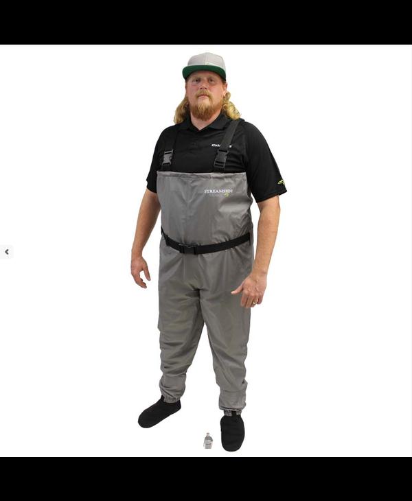 Streamside Guardian Breathable Waders - Grey