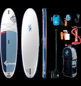 "Boardworks Boardworks  Solr 10'6"" Inflatable  SUP (Stand Up Paddleboard)- Blue"