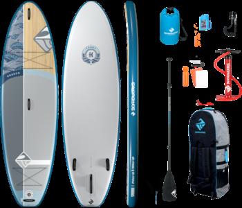 Boardworks  Kraken 10' Inflatable SUP (Stand Up Paddleboard) - Blue