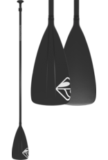"Boardworks Boardworks Aluminum/Plastic 2Pc Adj. SUP Paddle (68""-88""), Const. Aluminum Shaft / Poly, Colour  Black/Black"