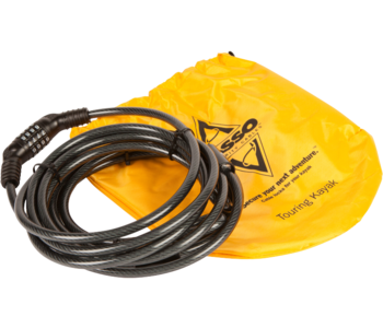 """Harmony Gear Kayak Security Cable - 47"""" For Sit Inside Kayaks"""