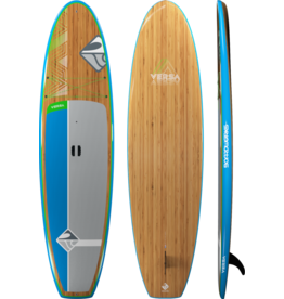 "Boardworks Boardworks  Versa 10'6"" SUP (Stand Up Paddleboard) -  Bamboo/Blue/Lime"