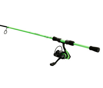 "13 Fishing Code Neon -  6'7"" ML Spinning Combo (2000 Size Reel) - 2 pc"