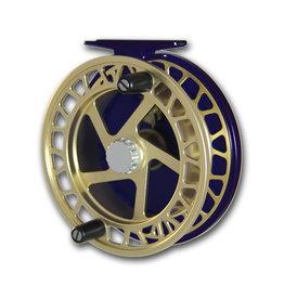 "Raven Raven 4 1/2"" Helix Centerpin Float Reel - Gold/Black"