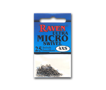 Raven Ultra Micro Swivel Xxs, 25/Pack