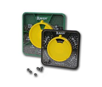 Raven 5-Part Split Shot Dispenser