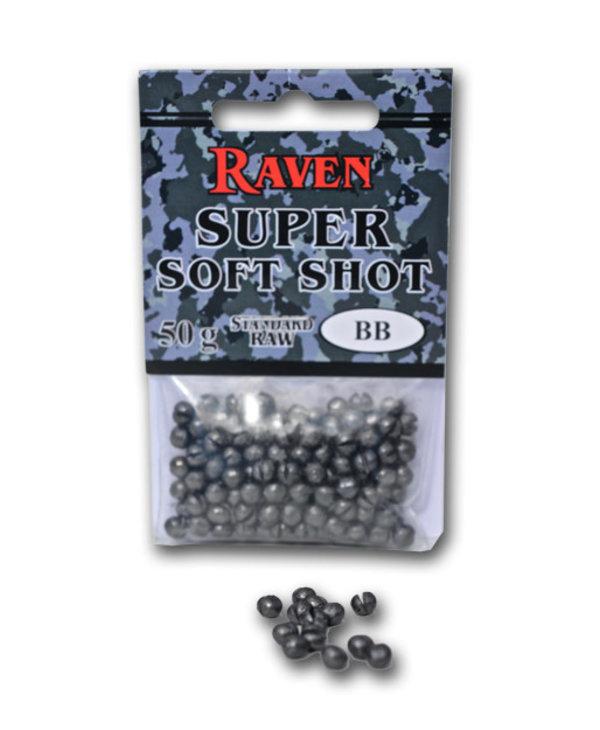 Raven Super Soft Shot AAA Standard Raw, 50G