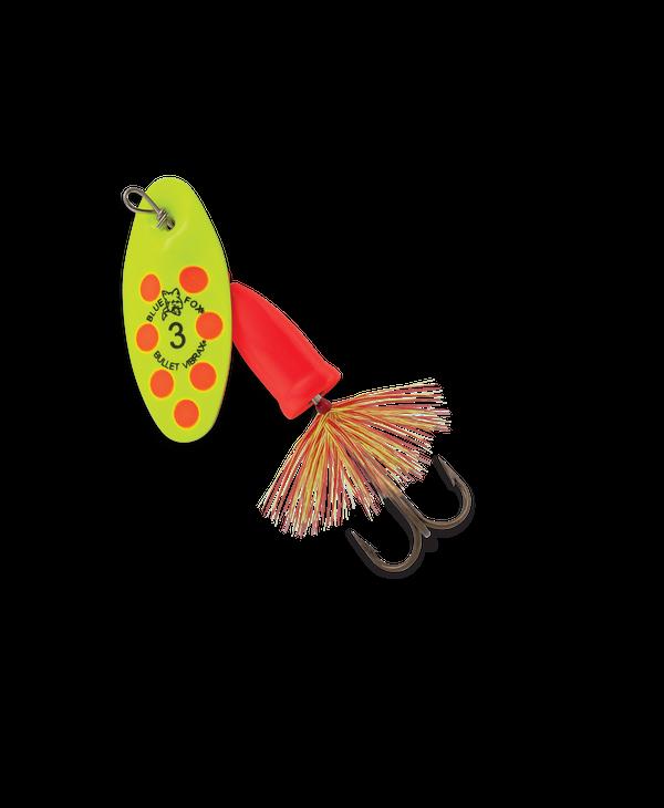 Blue Fox Bullet Vibrax Fly Series Spinner