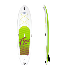 Pelican Pelican Flow 106 Stand-Up Paddle Board White/Lime