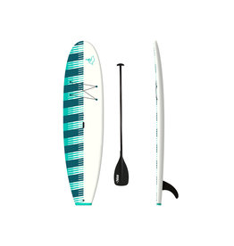 Pelican Pelican Saona 106 Stand-Up Paddle Board Turquoise/White/ W/Paddle