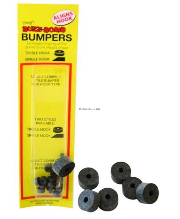 Buzz Bomb Bumpers for Treble Hook - 20/Pack