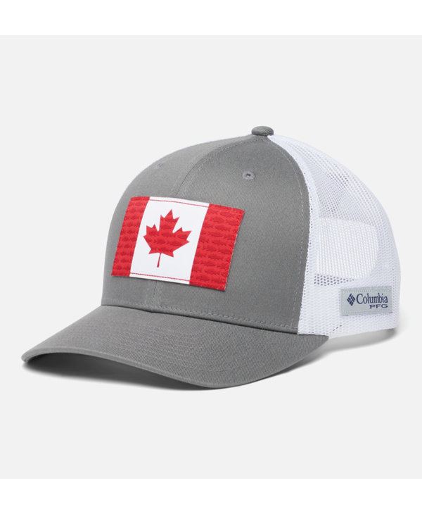 Columbia Fish Flag Snapback Mesh Hat