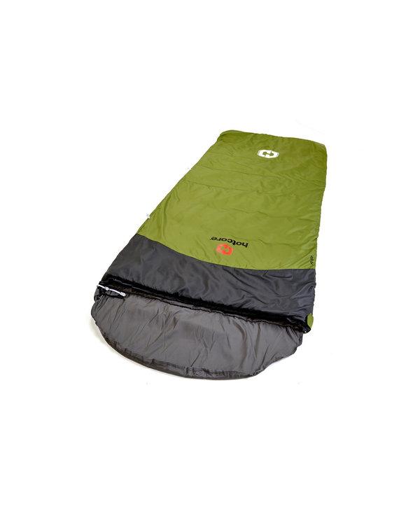 "Hotcore R-100 Sleeping Bag Rectangular Green 78""x34"" 2.8 lbs 0o C"