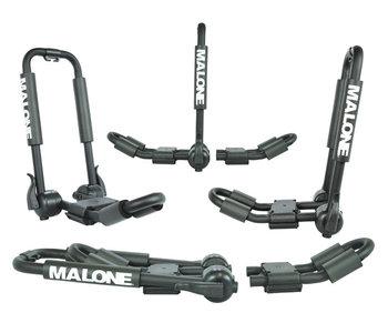 Malone FoldAway-5 Multi Rack Folding 1 or 2 Kayak, SUP, Canoe Carrier