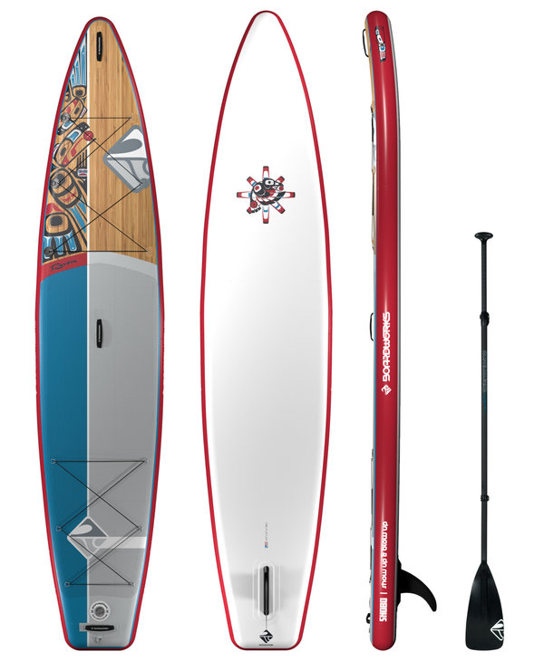 """Boardworks Raven 12'6"""" Inflatable SUP (Stand Up Paddleboard)"""