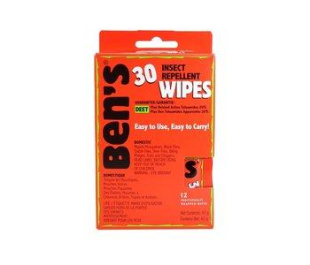 Ben's 30% Deet Insect Wipes