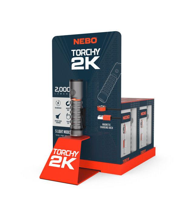 NEBO Torchy 2K 2000 Lumen Flash light