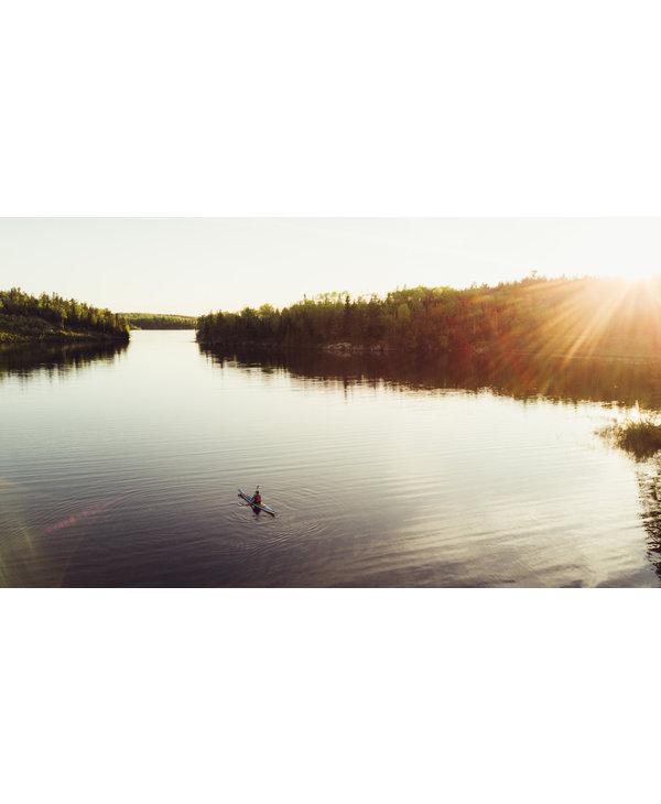 Aqua Bound Sting Ray Hybrid 2-Piece Posi-Lok Kayak Paddle