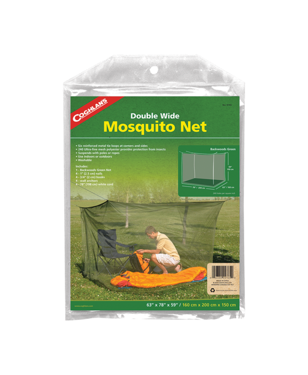 Coghlan's Mosquito Net - Double Green