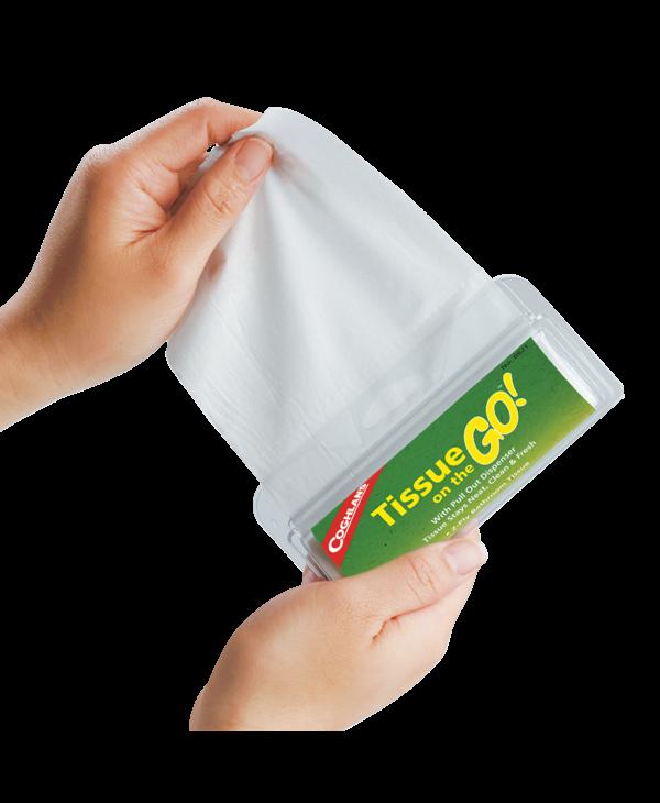 Coghlan's Tissue on the Go Pkg of 2