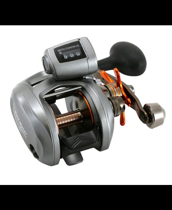 Okuma ColdWater 345DLX LH Low Profile Linecounter Reel