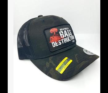 Weapons of Bass Destruction Trucker Hat - Multi Camo