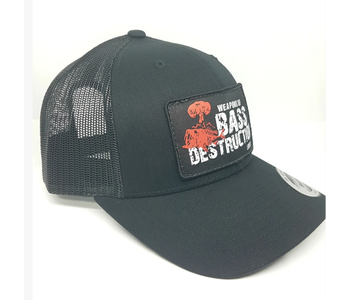 Weapons of Bass Destruction Trucker Hat - Black
