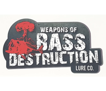 Weapons of Bass Destruction Decal - Small