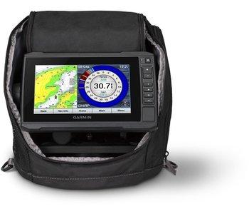 Garmin ECHOMAP UHD 73cv Ice Fishing Bundle With GT10HN-IF Transducer