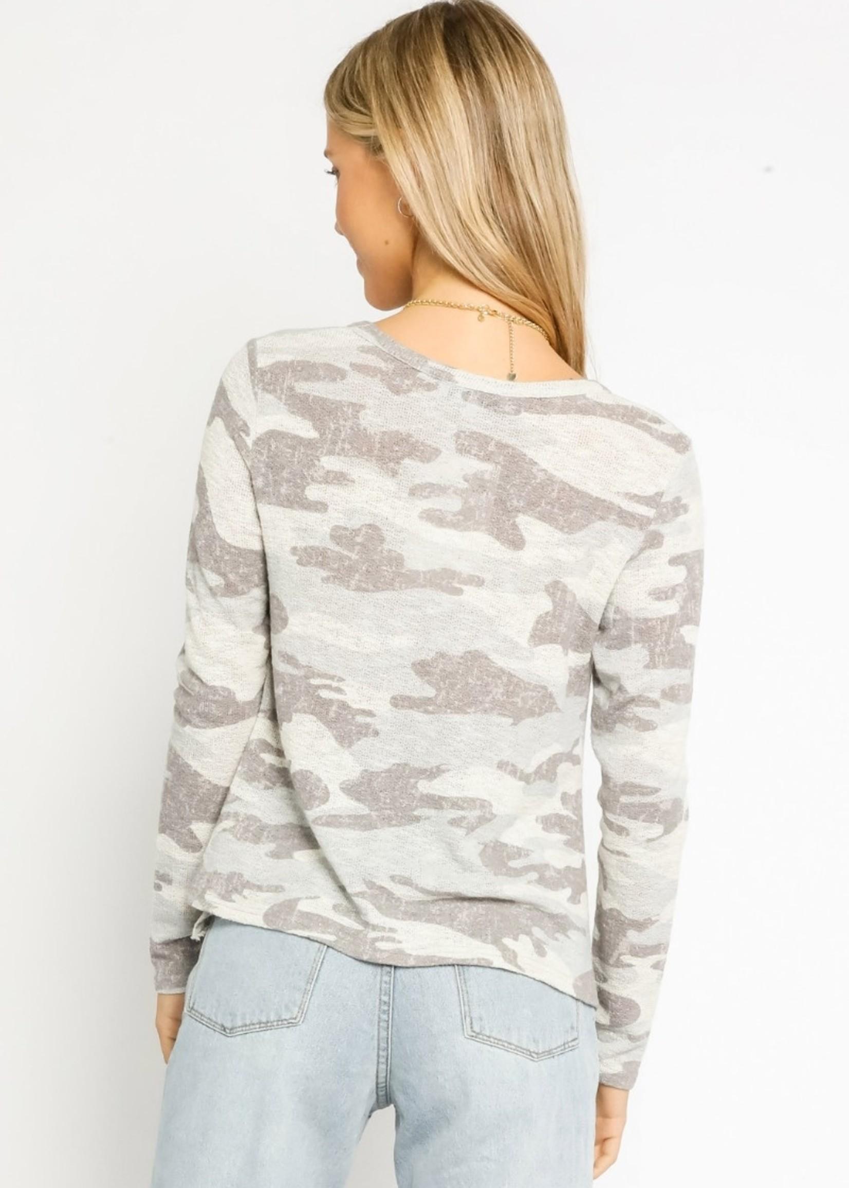 Light Camo Sweater