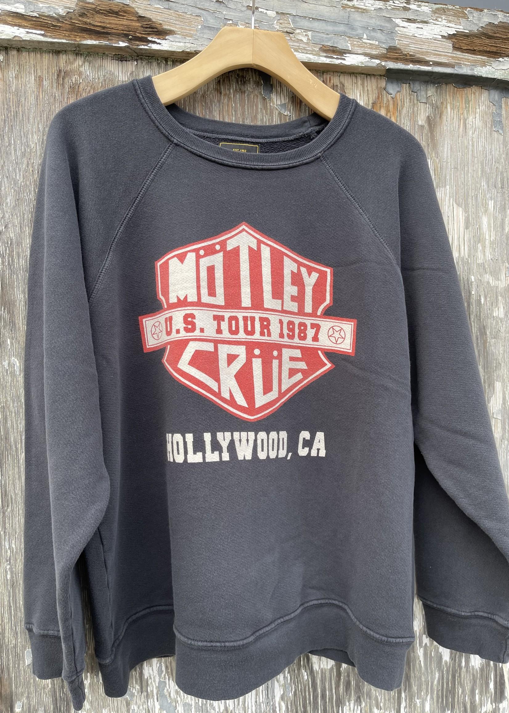 Retro brand Motley Crue crewneck sweatshirt