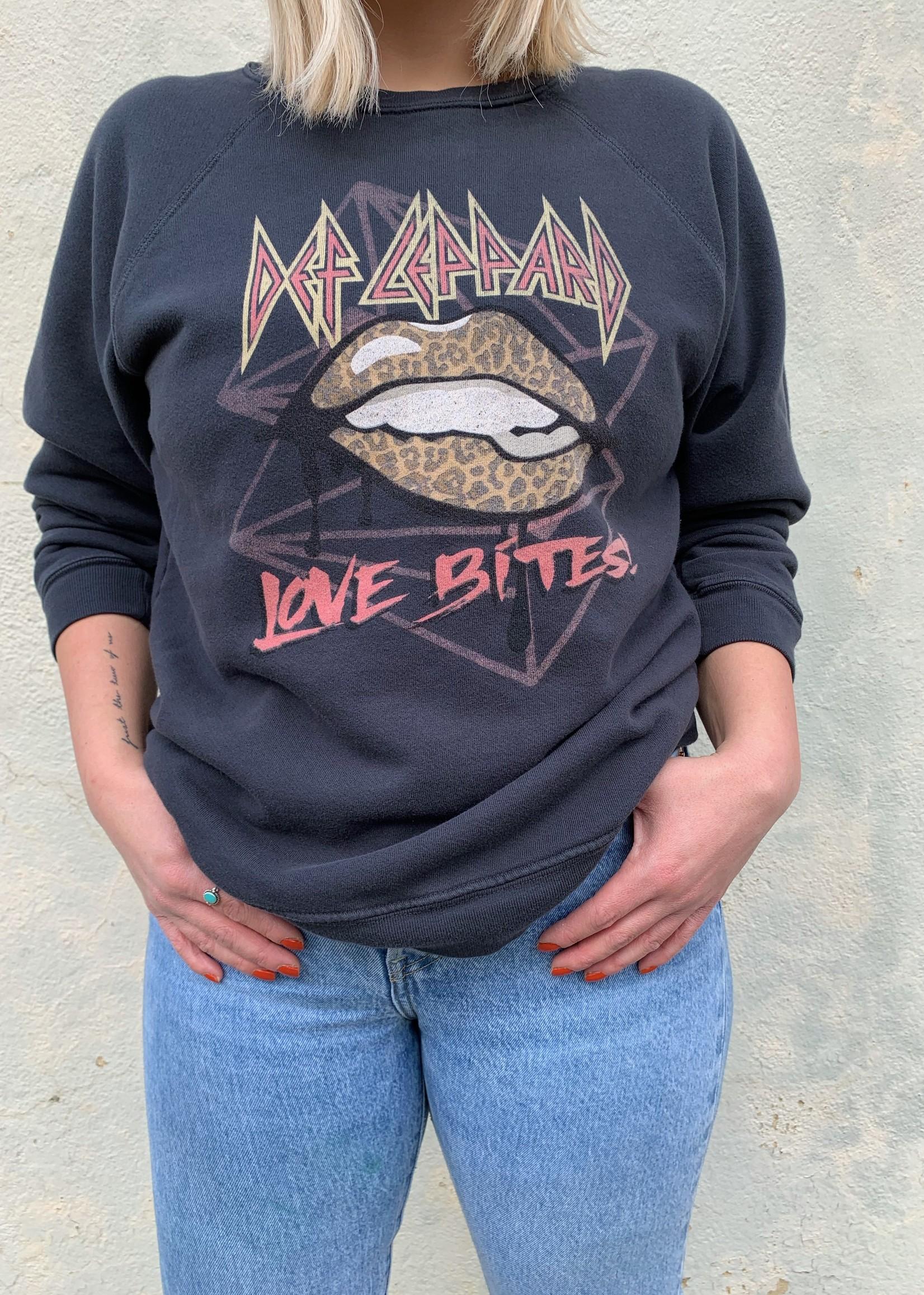 Def Leppard Love Bites Crewneck Sweatshirt