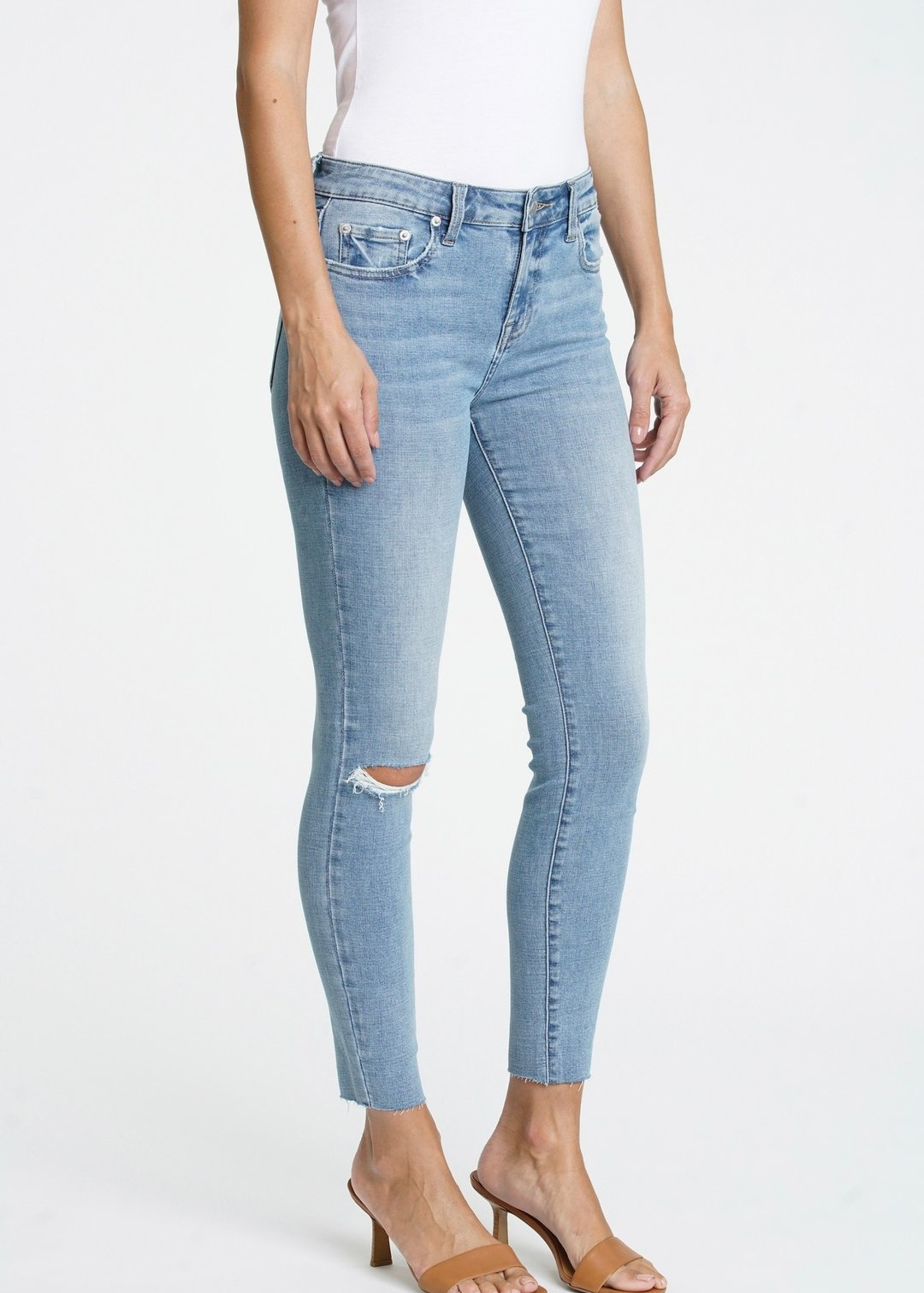 Audrey Mid Rise Skinny Jean