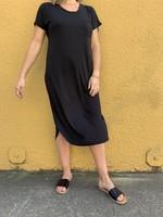 Midi Round Hem Dress