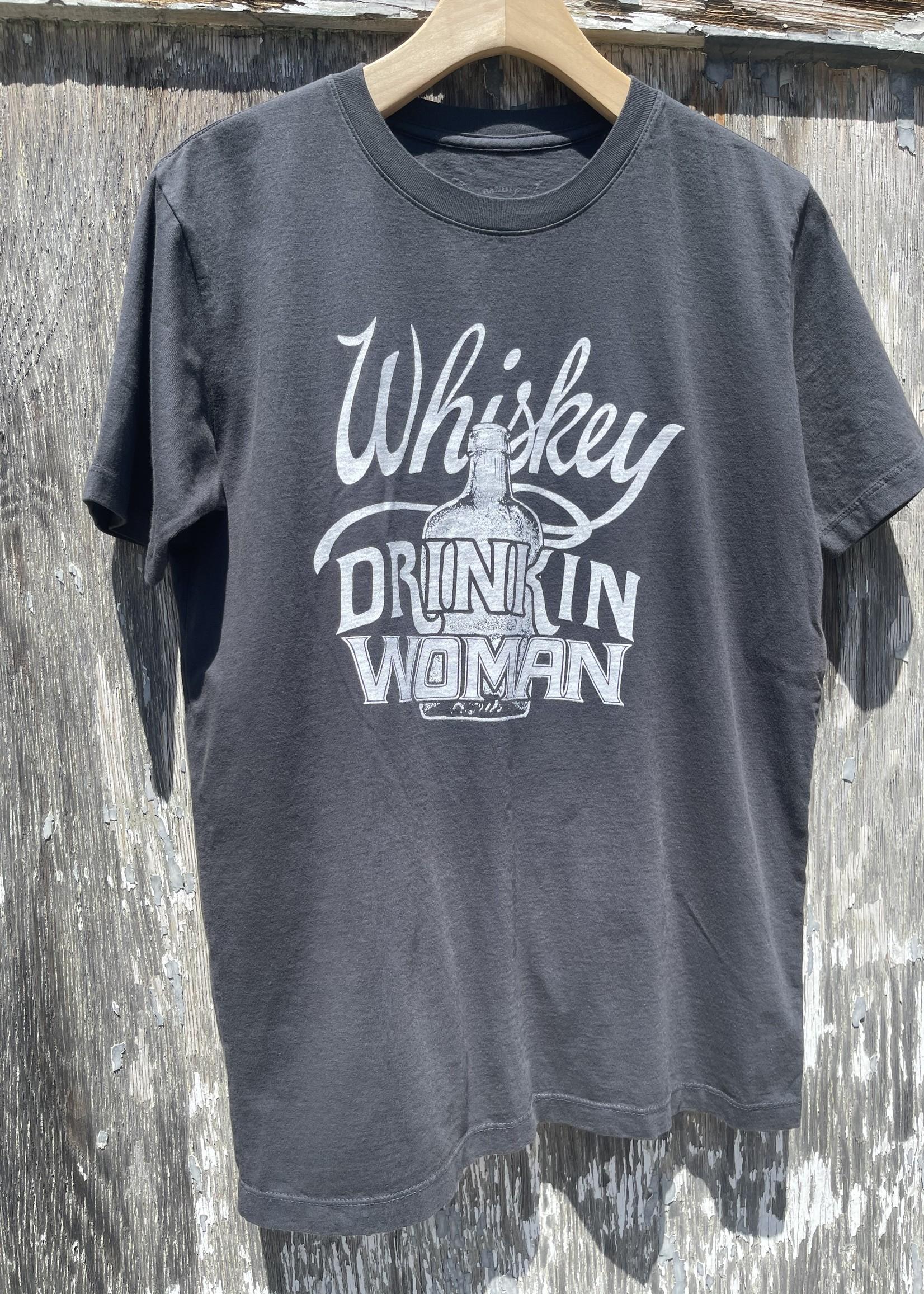 Whiskey Drinkin Woman Tee